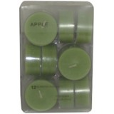 14014.4 Чаени свещи ябълка 12 бр