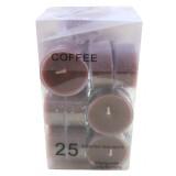 14015.4 Чаени свещи кафе 25 бр