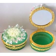 14104.5 Бижутерка кръгла с огледало 8 см