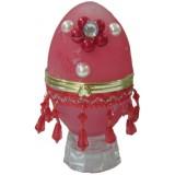 14110 Бижутерка яйце червена 12 см