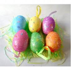 14118 Яйца на конец на тревичка 6 бр в пакет