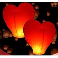 14173 Летящ фенер лилаво сърце