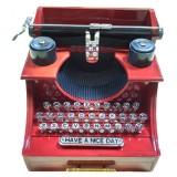 14343 Музикална кутия пишеща машина 15см