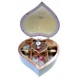 14347 Музикална кутия сърце 19 см