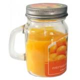 14389.2 Ароматна свещ Портокал в бурканче 8 см