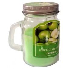 14389.5 Ароматна свещ Ябълка в бурканче 8 см