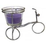 14393.2 Метален свещник колело 7/11 см