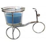 14393.3 Метален свещник колело 7/11 см