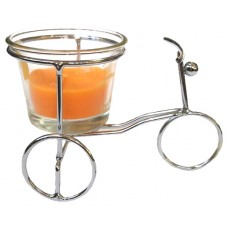 14393.4 Метален свещник колело 7/11 см