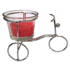 14393.5 Метален свещник колело 7/11 см