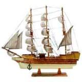 15080 Кораб дървен 44см