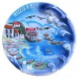 15124 Чиния керамична България 15см