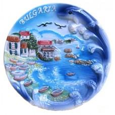 15122 Чиния керамична България 15см