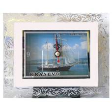 15127.1 Часовник стъклен Кранево 13/11 см