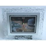 15131 Часовник стъклен Св.Константин 13/11см