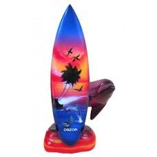 15139 Делфин със сърф Обзор 20 см