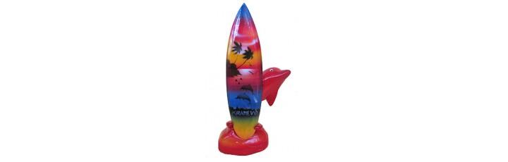 15148 Делфин със сърф Кранево 12 см