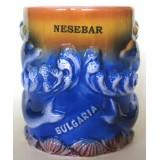 15193 Чаша керамична Несебър 10 см