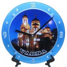 15202 Часовник стъклен Варна 20см