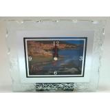 15247 Часовник стъклен Св.Влас 11/13см