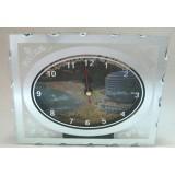 15250 Часовник стъклен Св.Константин 13/16см