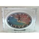 15251 Часовник стъклен Свети Влас 13/16см