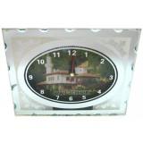 15252 Часовник стъклен Балчик 13/16см
