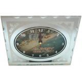 15254 Часовник стъклен Слънчев Бряг 13/16см