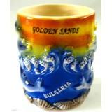 15255 Чаша керамична Златни Пясъци10 см