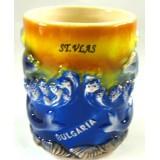 15256 Чаша керамична Свети Влас 10 см