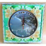 15266 Часовник стъклен Златни Пясъци 20см