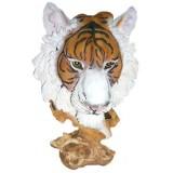 16030 Глава на тигър 30 см