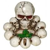 16033 Пепелник череп 11 см, Ф 13 см