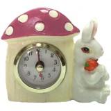 16128 Часовник заек 11 см