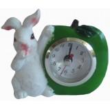 16128 B Часовник заек 11 см