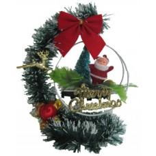 17061 Дядо Коледа в люлка 20 см