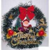 17062 Дядо Коледа в люлка 28 см