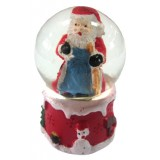 17063.1 Преспапие с Дядо Коледа Ф 4 см