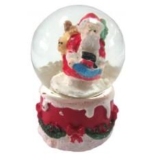 17063.2 Преспапие с Дядо Коледа Ф 4 см