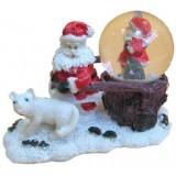 17065 Преспапие с Дядо Коледа 11/8 см
