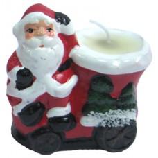 17083.2 Свещник с Дядо Коледа 7 см