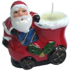 17083.3 Свещник с Дядо Коледа 7 см