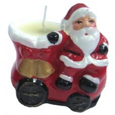 17083.4 Свещник с Дядо Коледа 7 см