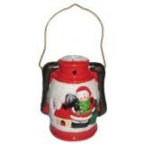 17086.1 Светещ фенер с Дядо Коледа 17 см