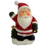 17101.2 Дядо Коледа светещ 17 см
