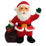 17107.2 Дядо Коледа с чувал с подаръчета 6 см