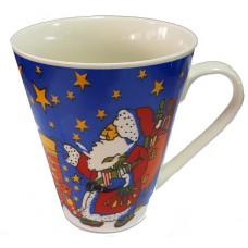 17117.2 Коледна чаша с Дядо Коледа 10 см, Ф 8 см