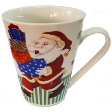 17118.1 Коледна чаша с Дядо Коледа 10 см, Ф 8 см