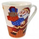 17118.2 Коледна чаша с Дядо Коледа 10 см, Ф 8 см
