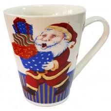 17118.3 Коледна чаша с Дядо Коледа 10 см, Ф 8 см